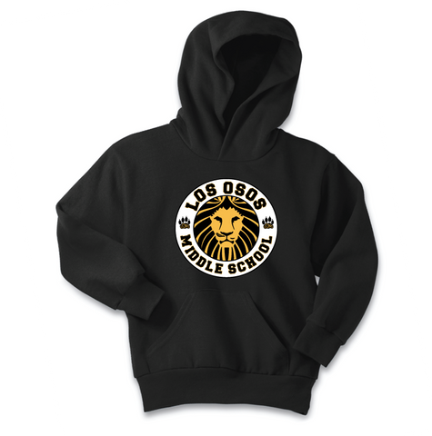 Los Osos Middle School - Full Color Print Hoodie - Pre-Order through Oct. 1st