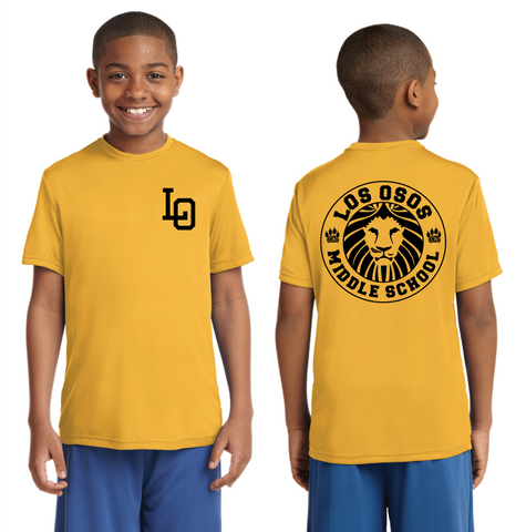 Los Osos Middle School - Performance T-Shirt - Pre-Order through Oct. 1st