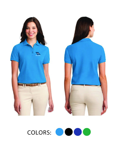 SLO Public Works - Ladies Cotton Pique Polo
