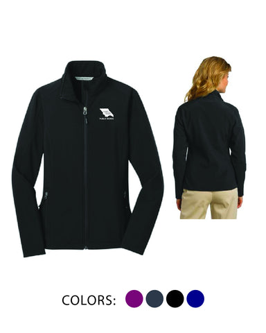 SLO Public Works - Ladies' Softshell Jacket