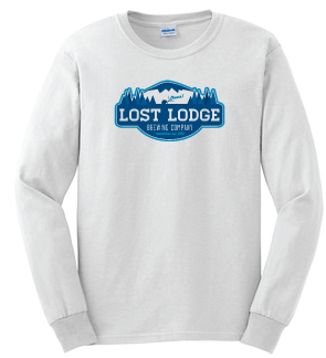 Lost Lodge White Long Sleeve T-Shirt