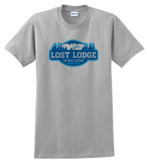 Lost Lodge Grey Short Sleeve