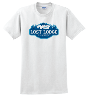 Lost Lodge White Short Sleeve