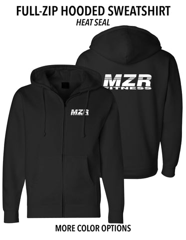MZR - Full-Zip Hooded Sweatshirt