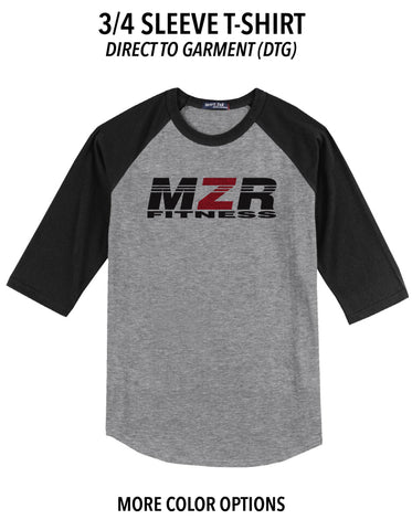 MZR - 3/4 Sleeve T-Shirt