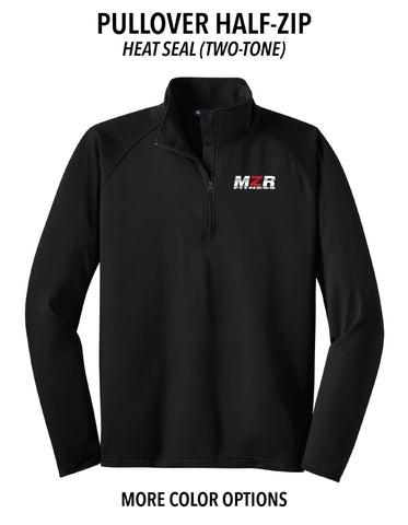 "MZR - Pullover Half-Zip (Two Color ""MZR"")"