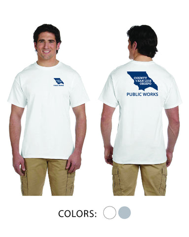 SLO Public Works - Short Sleeve T-shirt