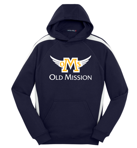 NAVY OMS Falcons Hoodie- 7th/8th Grade ONLY