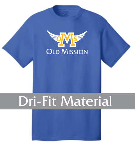 Athletic Print -Dri-Fit Material - Spirit Shirt