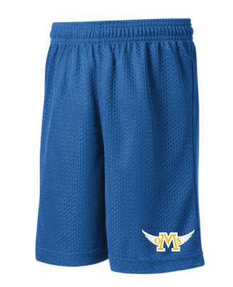 OMS Approved for School - 7th/8th Grade PE Shorts