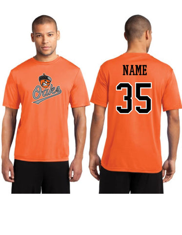 Oaks Baseball - Performance Shirt