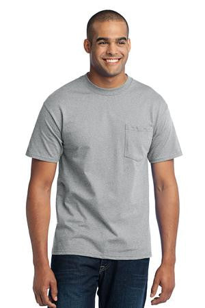 FMD04 - Port & Company® Core Blend Pocket Tee (comes in Tall)