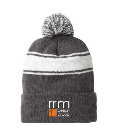 RRM Design Group - Beanie with Pom