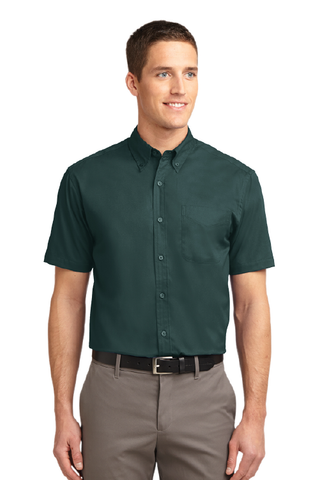 Cal Poly AFD - Short Sleeve Button-Up
