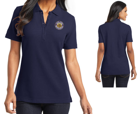 SLO District Attorney's Office - Womens Polo Shirt - WITH NAME