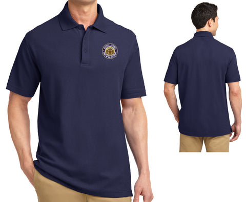 SLO District Attorney's Office - Men's Polo Shirt - WITH NAME