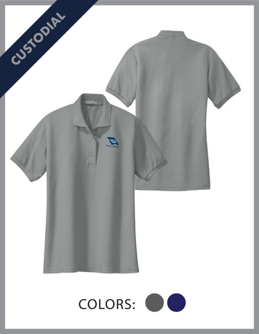 SLO Public Works - (Custodial) Ladies Cotton Pique Polo