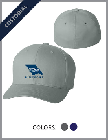 SLO Public Works - (Custodial) FlexFit Hat