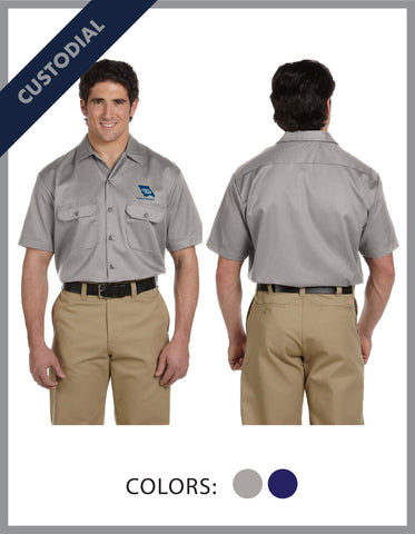 SLO Public Works - (Custodial) Mens Dickies Work Shirt