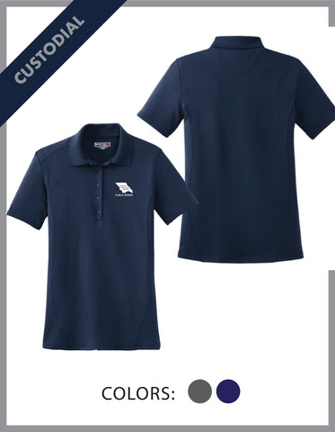 SLO Public Works - (Custodial) Ladies Dry Zone Polo