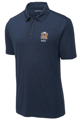 Mission Prep Golf Men's Blue Polo
