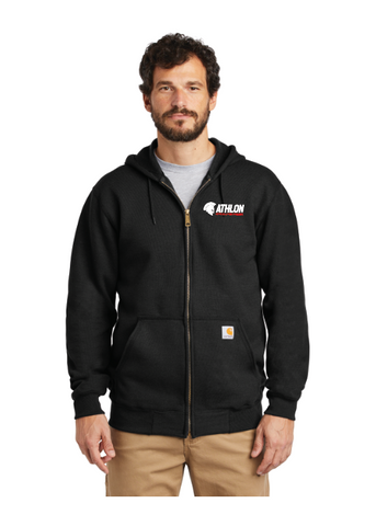 Athlon Fitness Embroidered Zip Hoodie
