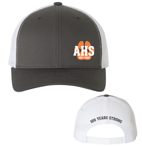 Atascadero 100 Years Strong Trucker Cap