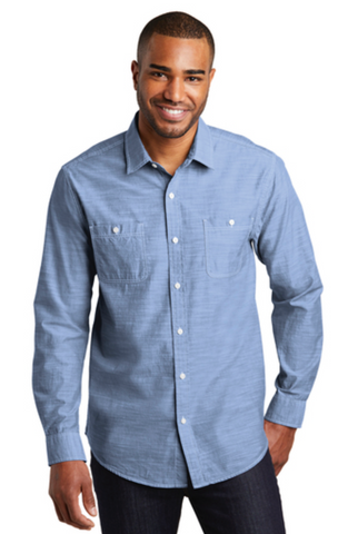 FMD22 - Port Authority Slub Chambray Shirt