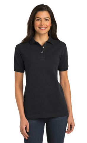 FMD24 - Port Authority® Ladies Heavyweight Cotton Pique Polo