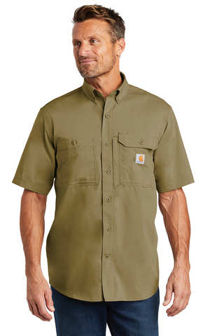 FMD18 - Carhartt Force ® Ridgefield Solid Short Sleeve Shirt