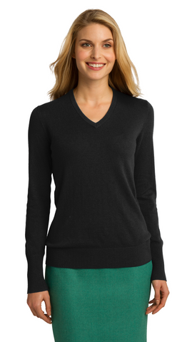 FMD49 - Port Authority® Ladies V-Neck Sweater