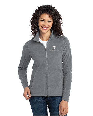 TTU - CoE Ladies Microfleece Full Zip Jacket
