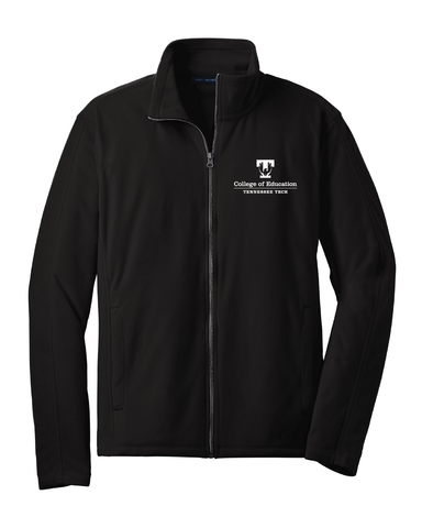 TTU - CoE Men's Microfleece Full Zip Jacket