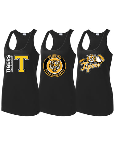 Tigers Club Baseball - Ladies Tank Top (Choose Design)