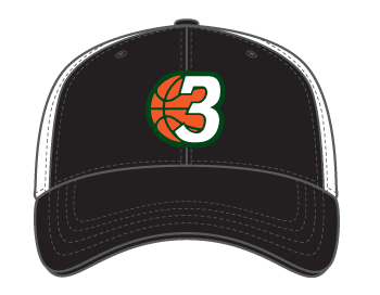 3Ball - Trucker Hat - On Demand Item...takes a few days