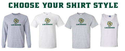 Cal Poly Lacrosse Club - CP Lacrosse Shirts (Choose Your Style)