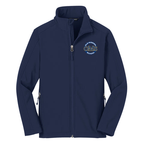 OMS Approved for School - Soft Shell Jacket