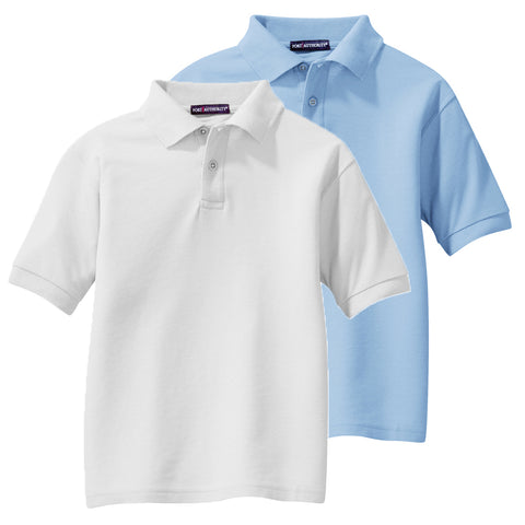 OMS Approved for School - Standard Cotton/Poly Pique Polo w/ no logo