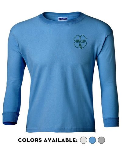 Edna 4-H - Youth Long-Sleeve T-Shirt
