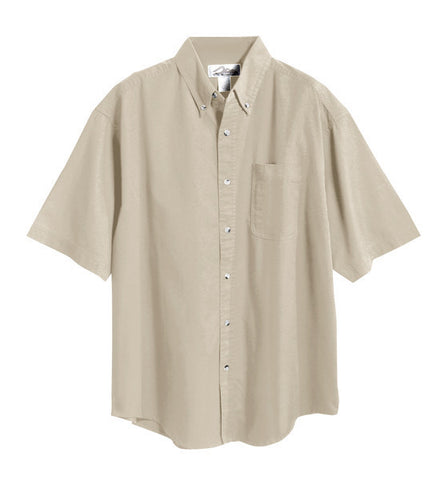 CP NRES9 - Men's Twill Button Down Short Sleeve