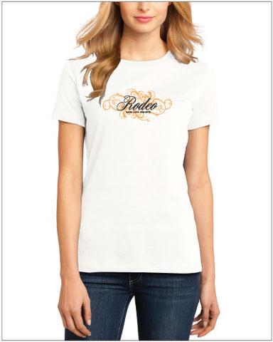 Ladies SLO Rodeo • Orange