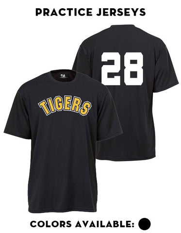 Tigers Club Baseball - Practice Jersey