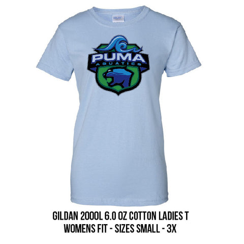 Puma Aquatics - Ladies Cotton Crest Tee