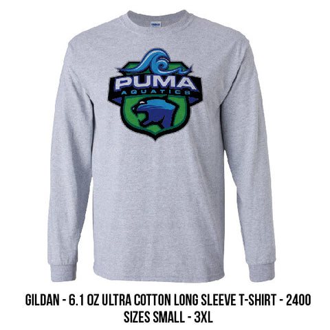 Puma Aquatics - Long-sleeve Crest Tee