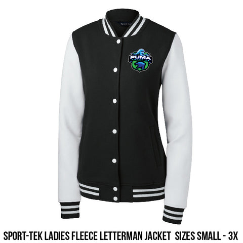 Puma Aquatics - Ladies Letterman Crest Jacket