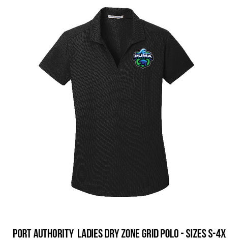 Puma Aquatics - Ladies Dry Zone Grid Polo