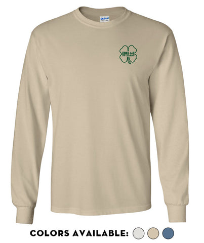 Edna 4-H - Adult Long-Sleeve T-Shirt