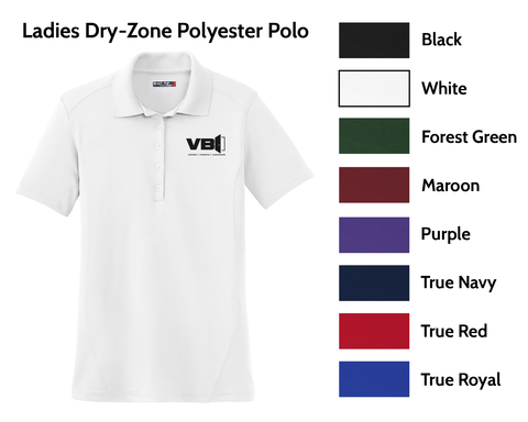 VBI Doors - Ladies Dry-Zone Polo