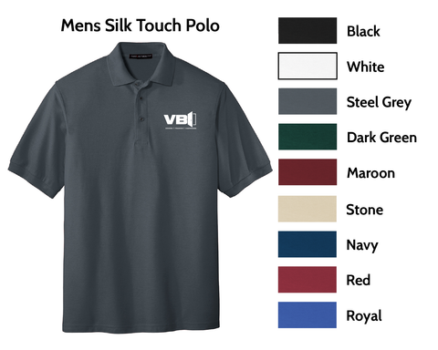 VBI Doors - Mens Silk Touch Polo