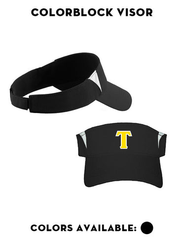 Tigers Club Baseball - Colorblock Visor